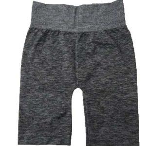 Pantalon Ciclista Melange Mix Sin Costura Negro Cocot 5233