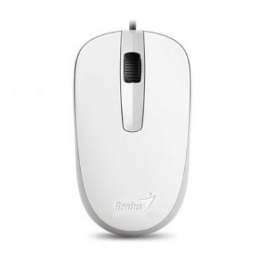 Mouse Optico DX-120 USB Blanco Genius