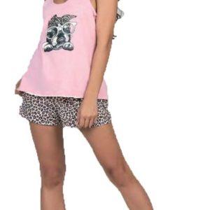 Pijama de Mujer Musculosa Dog Cocot 7361