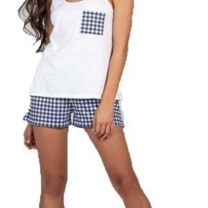 Pijama de Mujer Musculosa Vichy Cocot 7362
