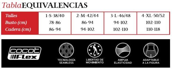 Combo Musculosa, Top y Pescadora Cocot 5259, 5258, 5257