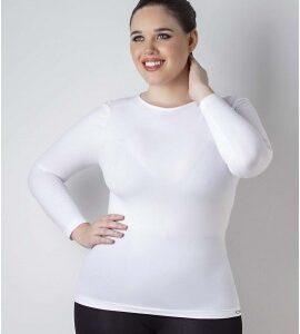 Camiseta Térmica Sin Costura Blanco Cocot 5007