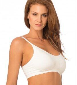Corpiño Armado Liso Sin Costura Blanco Cocot 5757