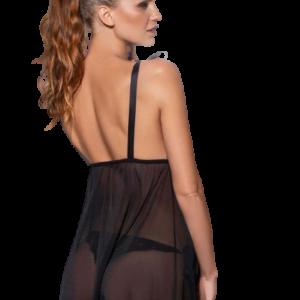Camisolin de Tul Black Sexy Negro Cocot 5559