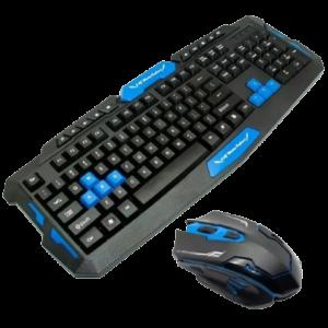 Teclado Y Mouse Inalambrico Gamer 2.4ghz HK8100