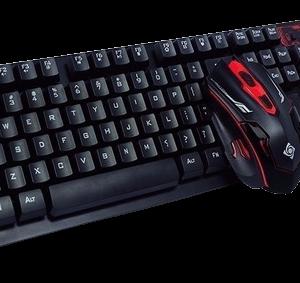 Kit Mouse y Teclado Inalambrico Gamer HK 6500
